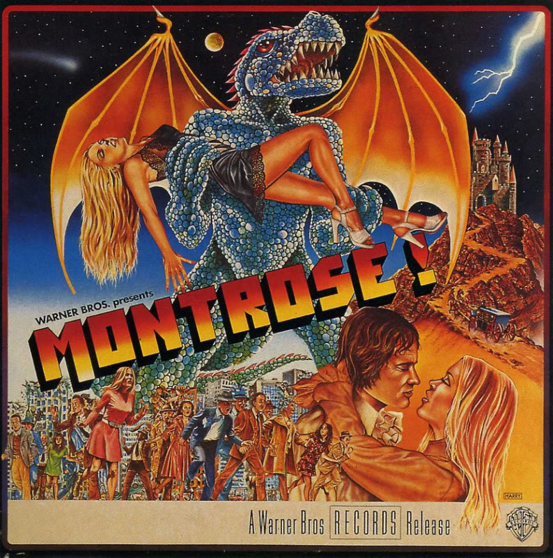 Album cover of the week: Warner Brothers Presents… Montrose!