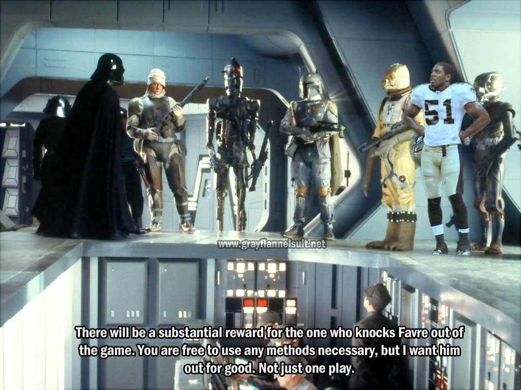 """New Orleans Saints Bounty Hunters? We Don't Need Their Scum!"""