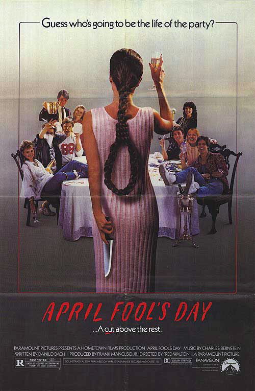 April Fool's Day movie poster (1986)