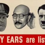 Enemy Ears Are Listening - World War II poster