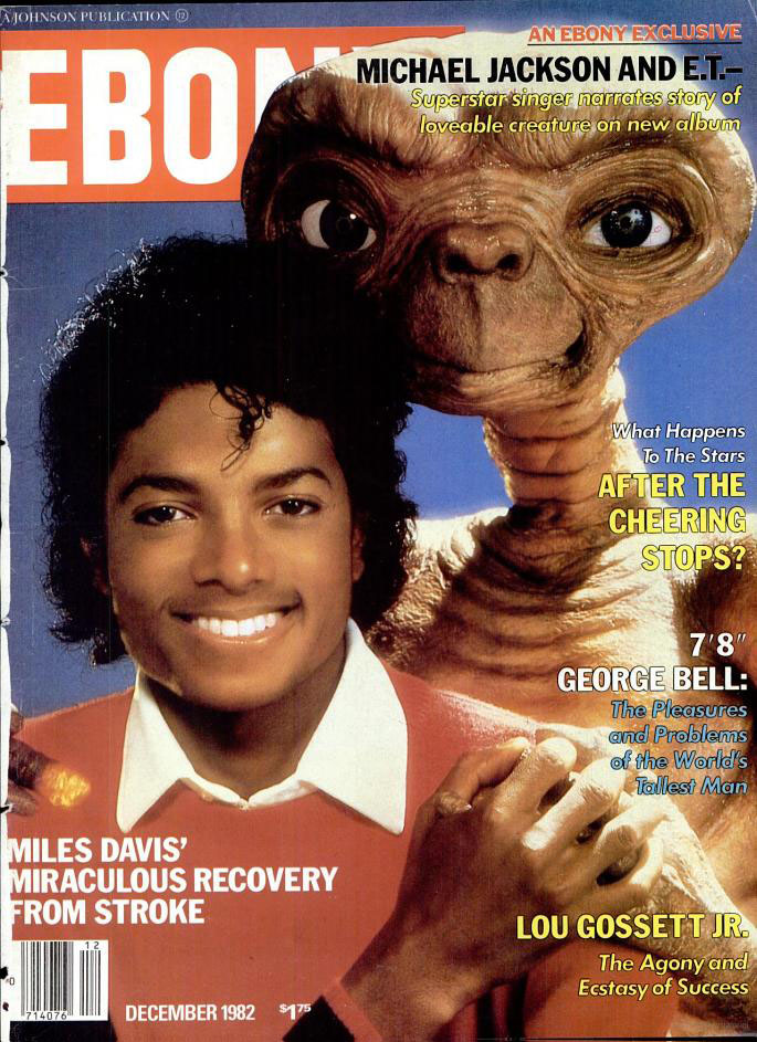 Pop Culture Capsule — Michael Jackson 1982 Ebony Magazine Spotlight