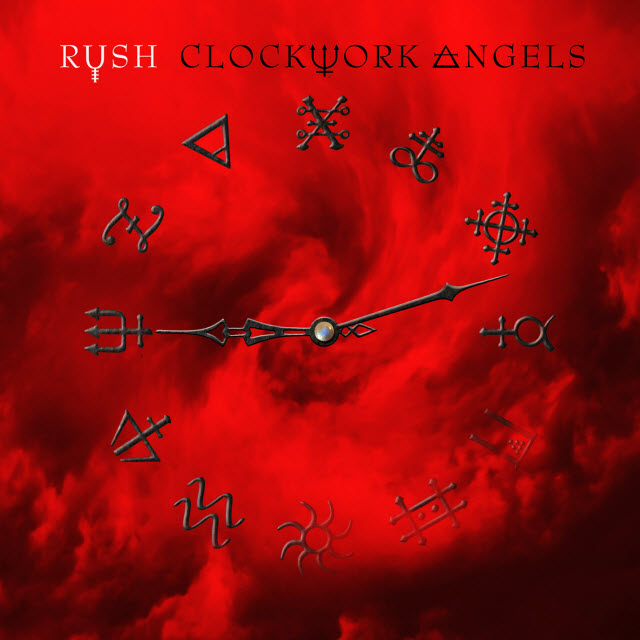 Rush - Clockwork Angels album cover