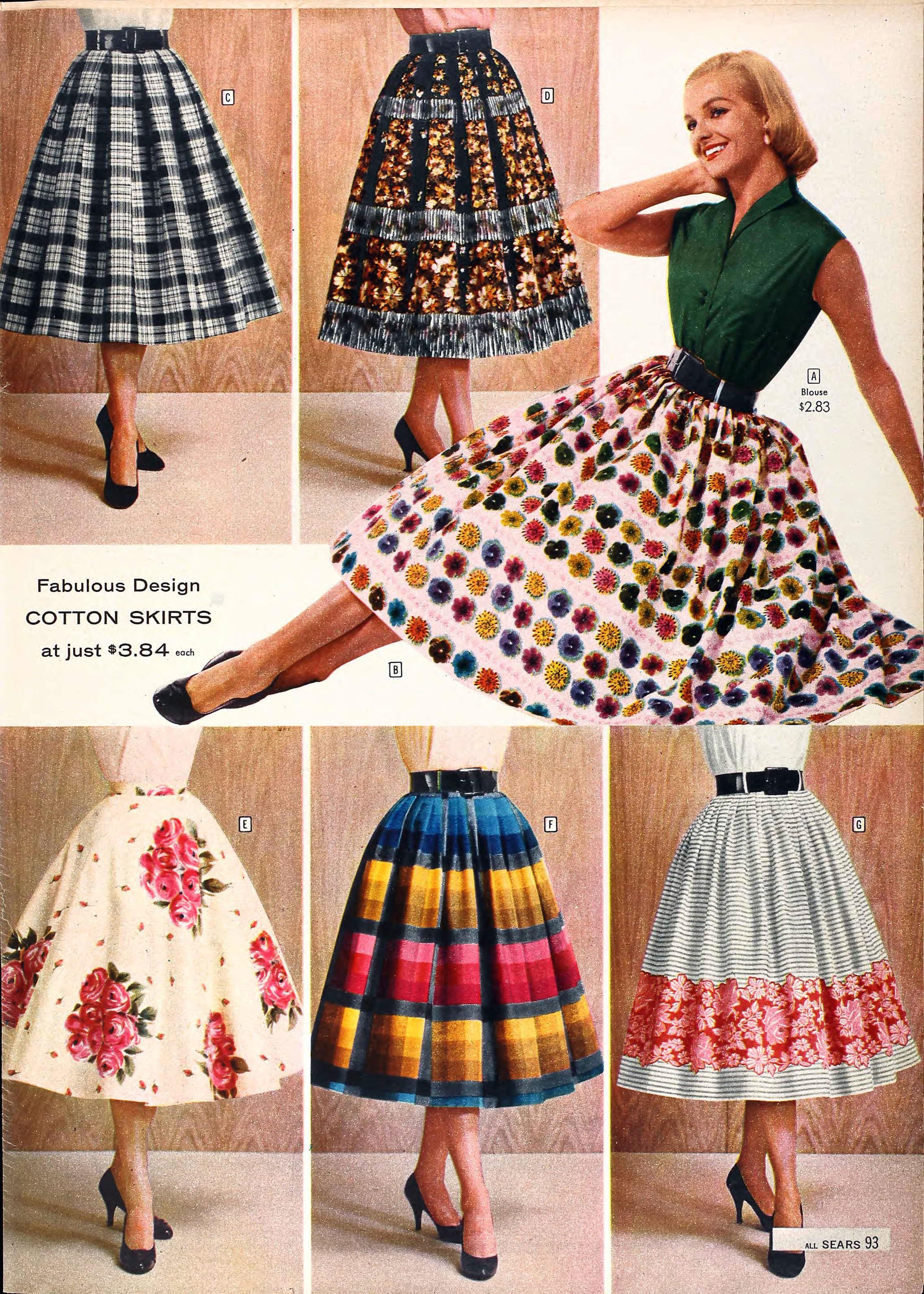 Sears Catalog Highlights Spring Summer 1958