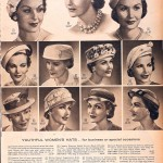 Sears Catalog, Spring/Summer 1958 - Women's Hats