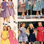 Sears Catalog, Spring/Summer 1958 - Girls' Dresses