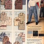 Sears Catalog, Spring/Summer 1958 - Boys' Shirts and Slacks