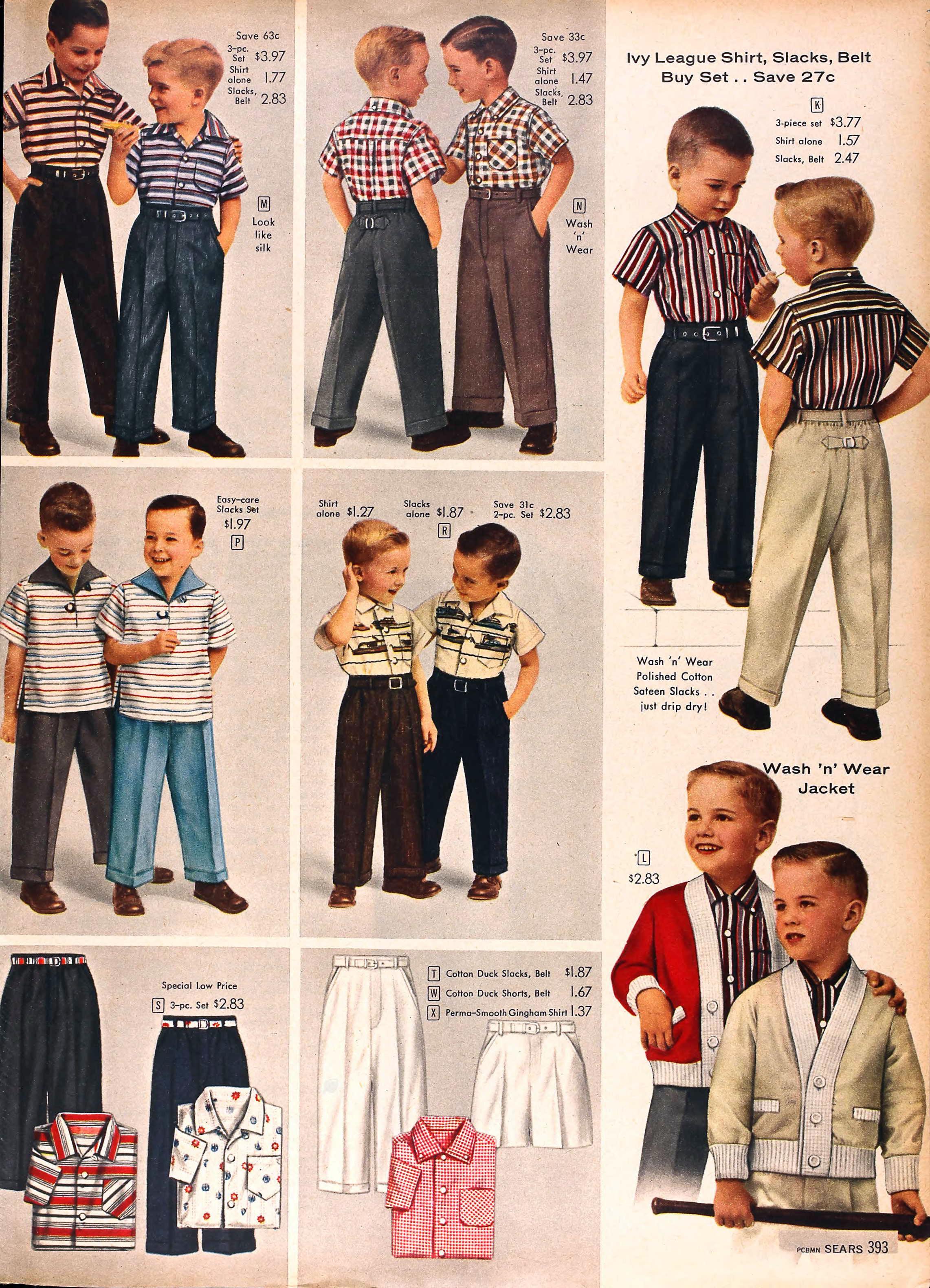 Sears Catalog Highlights Springsummer 1958  Grayflannelsuitnet-8228