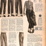 Sears Catalog, Spring/Summer 1958 - Boy's Jeans