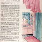 Sears Catalog, Spring/Summer 1958 - Bath Decor