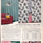 Sears Catalog, Spring/Summer 1958 - Draperies
