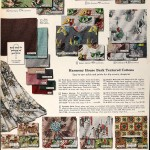 Sears Catalog, Spring/Summer 1958 - Fabric Patterns