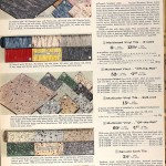 Sears Catalog, Spring/Summer 1958 - Vinyl Flooring