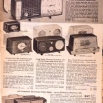 Sears Catalog, Spring/Summer 1958 - Radios and Clocks