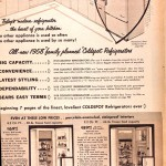 Sears Catalog, Spring/Summer 1958 - Refrigerators