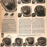 Sears Catalog, Spring/Summer 1958 - Baseball Gloves