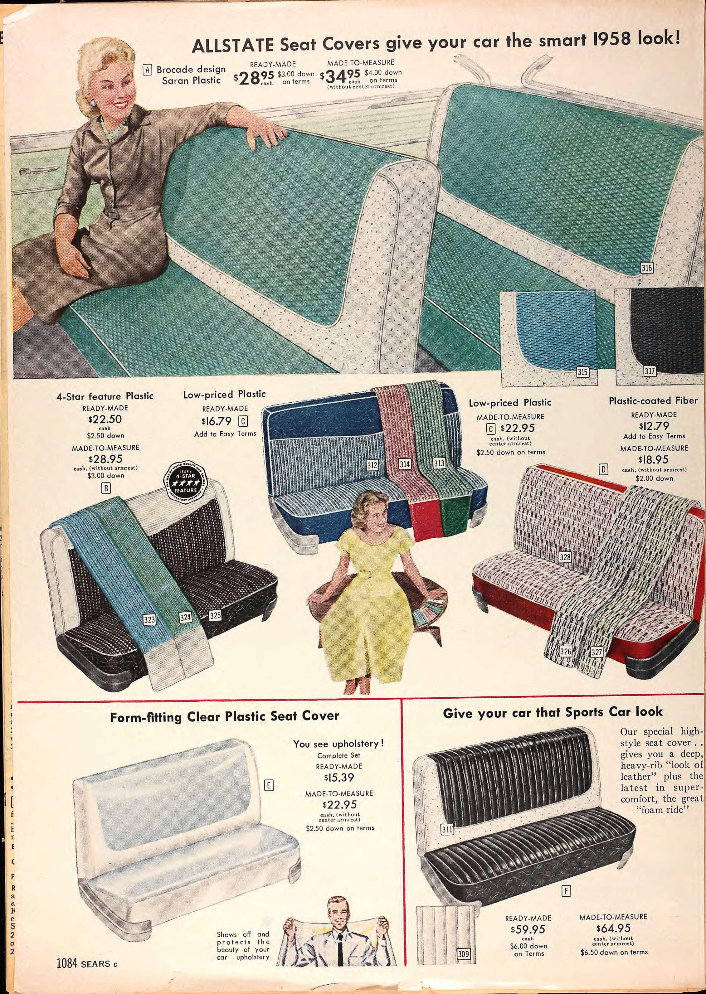 Sears Catalog Highlights Springsummer 1958  Grayflannelsuitnet-8319
