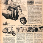 Sears Catalog, Spring/Summer 1958 - Allstate Scooter