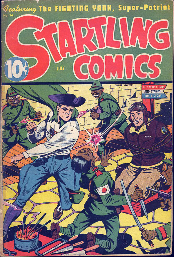 Startling Comics #34 (July 1945) feat. the Fighting Yank
