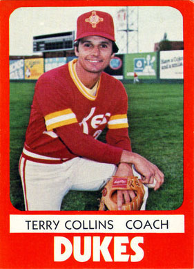 Terry Collins, Albuquerque Dukes (1980 baseball card)