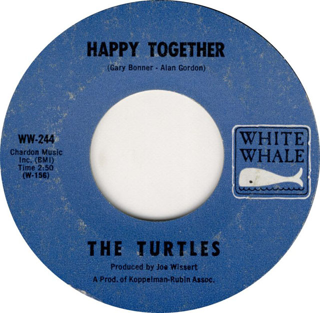"The Turtles - ""Happy Together"" on White Whale Records"