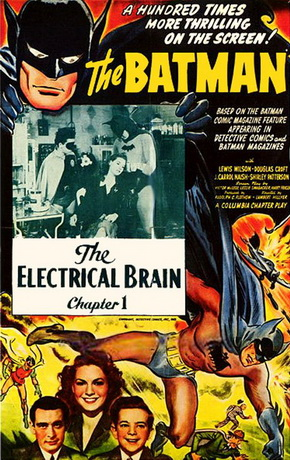 "Saturday Serials: ""The Electrical Brain"" (Batman, 1943)"