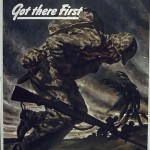 Careless Talk Got There First (World War II poster)
