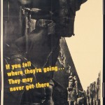Don't Talk About Troop Movements (World War II poster)