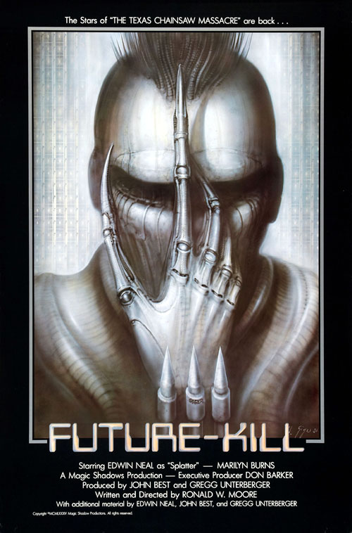 Future-Kill (1985) horror movie poster