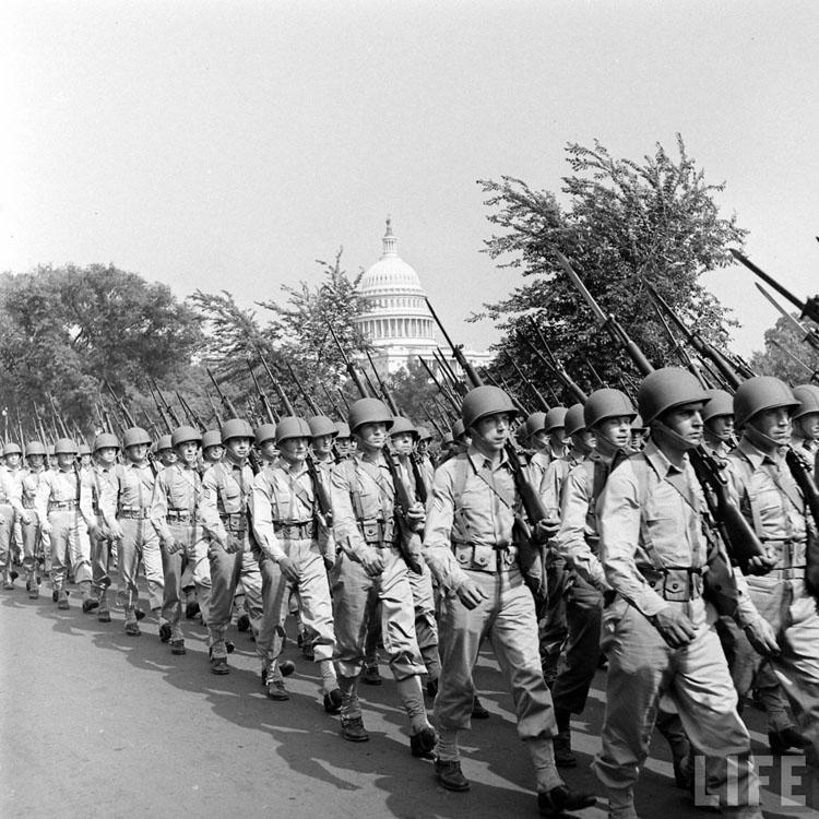 Photo Gallery: Memorial Day Army Parade, Washington, D.C., May 1942