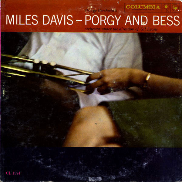 Miles Davis — Porgy and Bess album cover