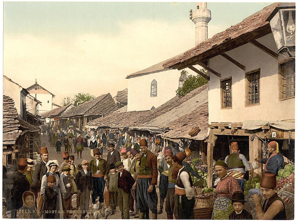Mostar (Turkish quarter), Herzegovina, Austria-Hungary
