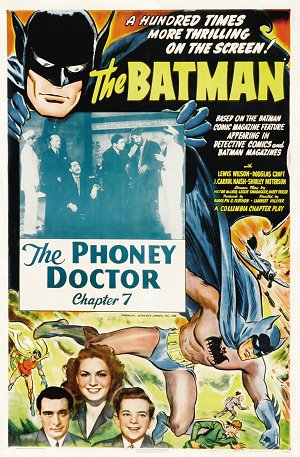 "Saturday Serials: ""The Phoney Doctor"" (Batman 1943, Chapter 7)"