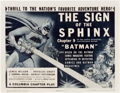 "Saturday Serials: ""The Sign of the Sphinx"" (Batman 1943, Chapter 9)"