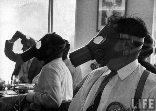 Los Angeles Smog (Life, 1954)