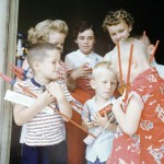 Vintage photographs from an old-fashioned 4th of July, 1954