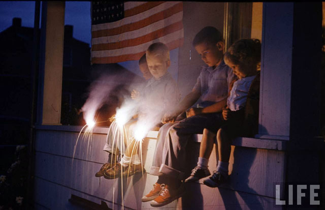 Time Capsule: An Old-Fashioned 4th of July, 1954