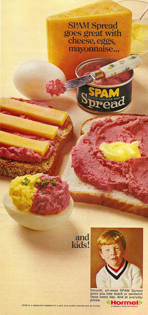 Use SPAM Spread on My Kids? Well OK, If You Say So!