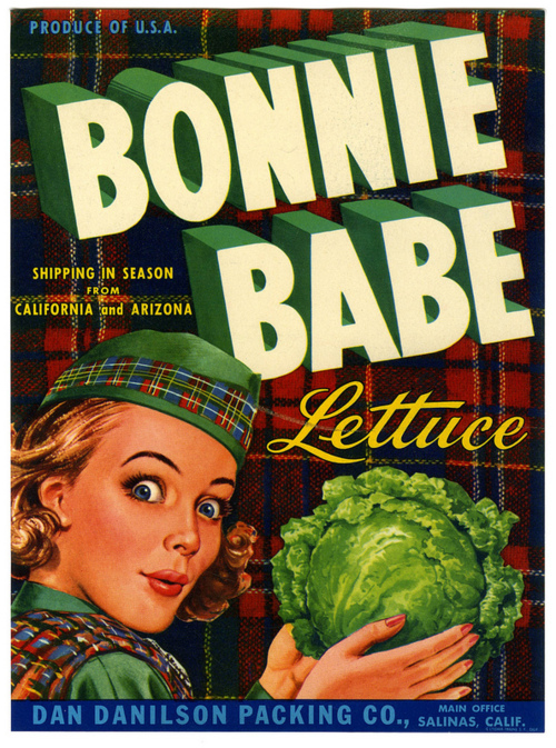 Oooh, lettuce! Enough to Make Any Comely Scottish Lass Blush!