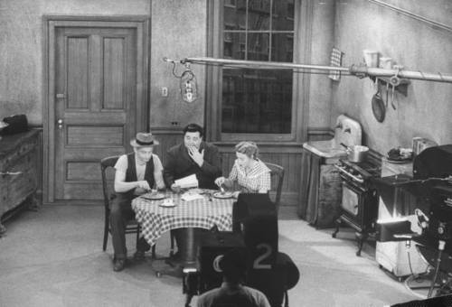 Classic Shot from the Set of The Honeymooners