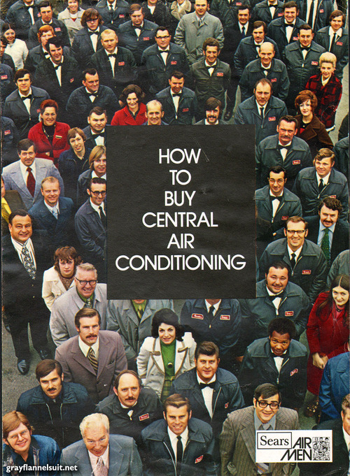 "Brochure Beauties #1: ""How to Buy Central Air Conditioning"" (Sears, 1973)"
