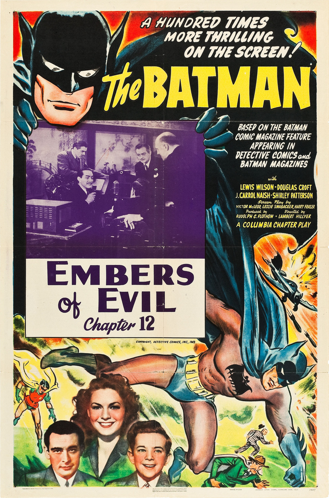"Saturday Serials: ""Embers of Evil"" (Batman 1943, Chapter 12)"