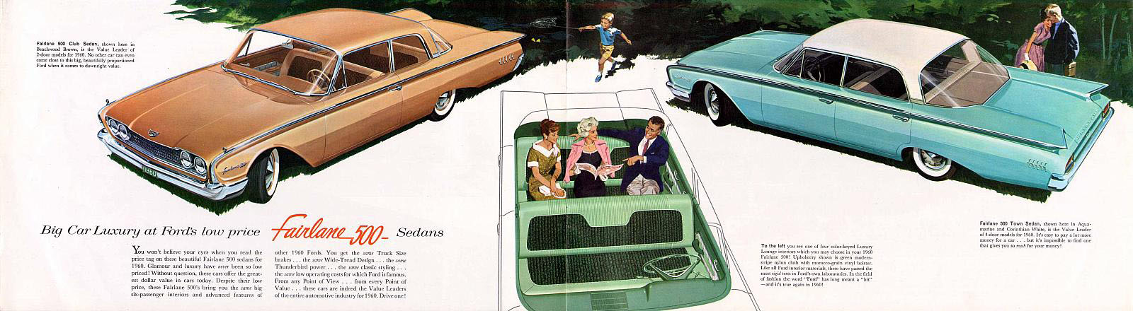 1960 Ford Fairlane brochure page
