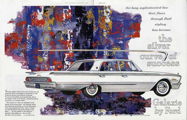 1960 Ford Galaxie advertisement