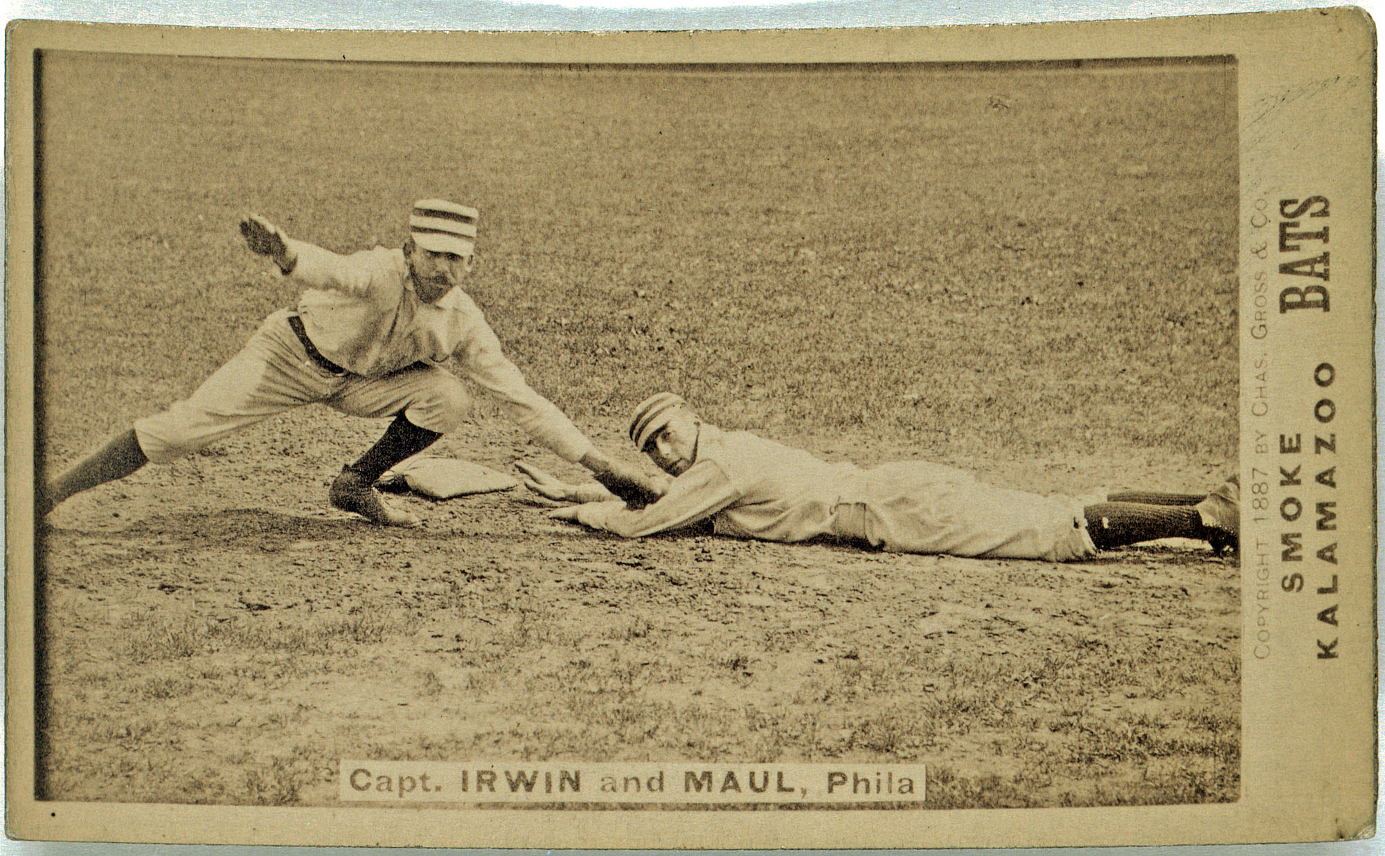 Arthur Irwin & Albert Maul of the Philadelphia Quakers/Phillies, 1887