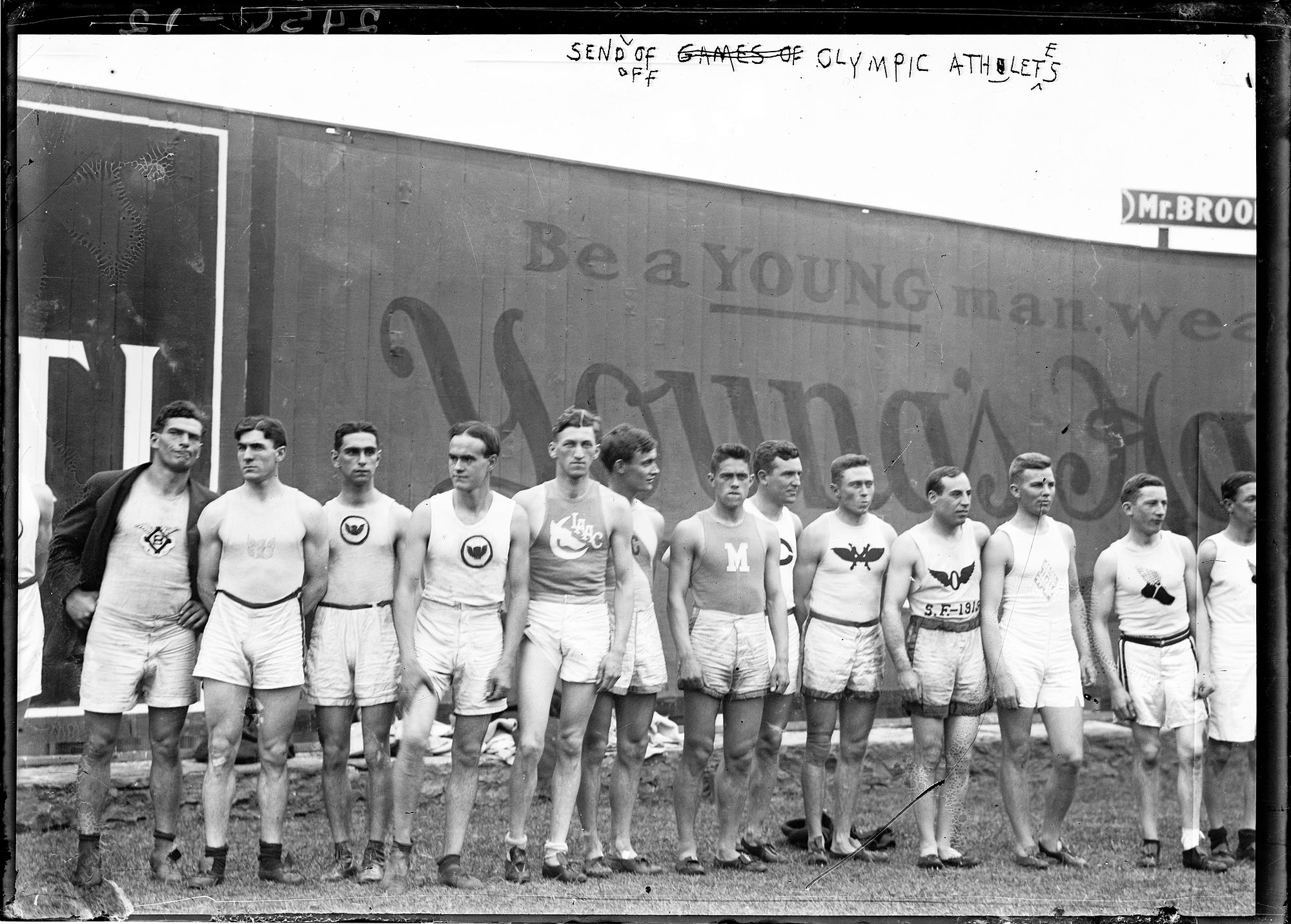 1912 U.S. Olympic Team (Stockholm, Sweden Games)