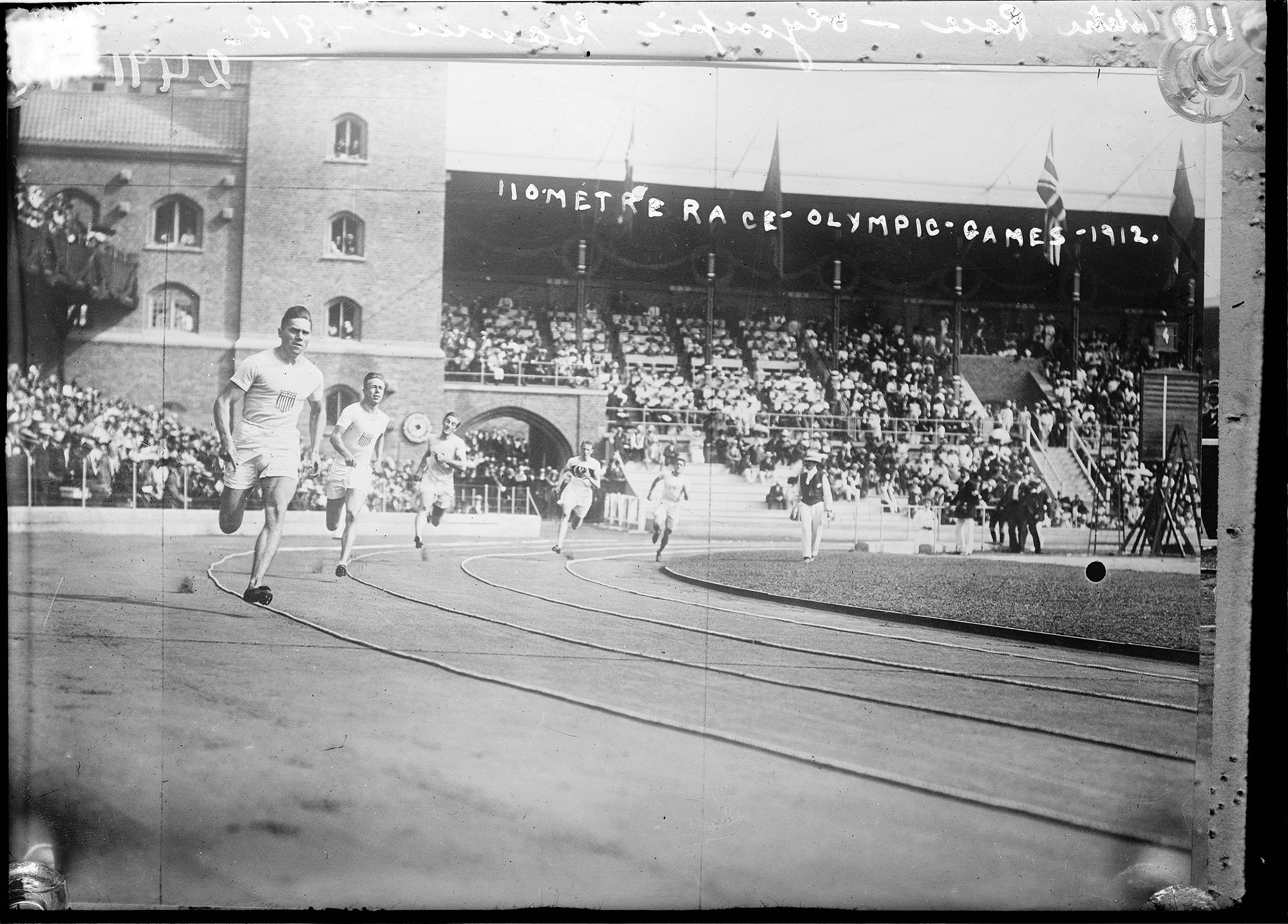 110 metre race - Olympic Games - 1912