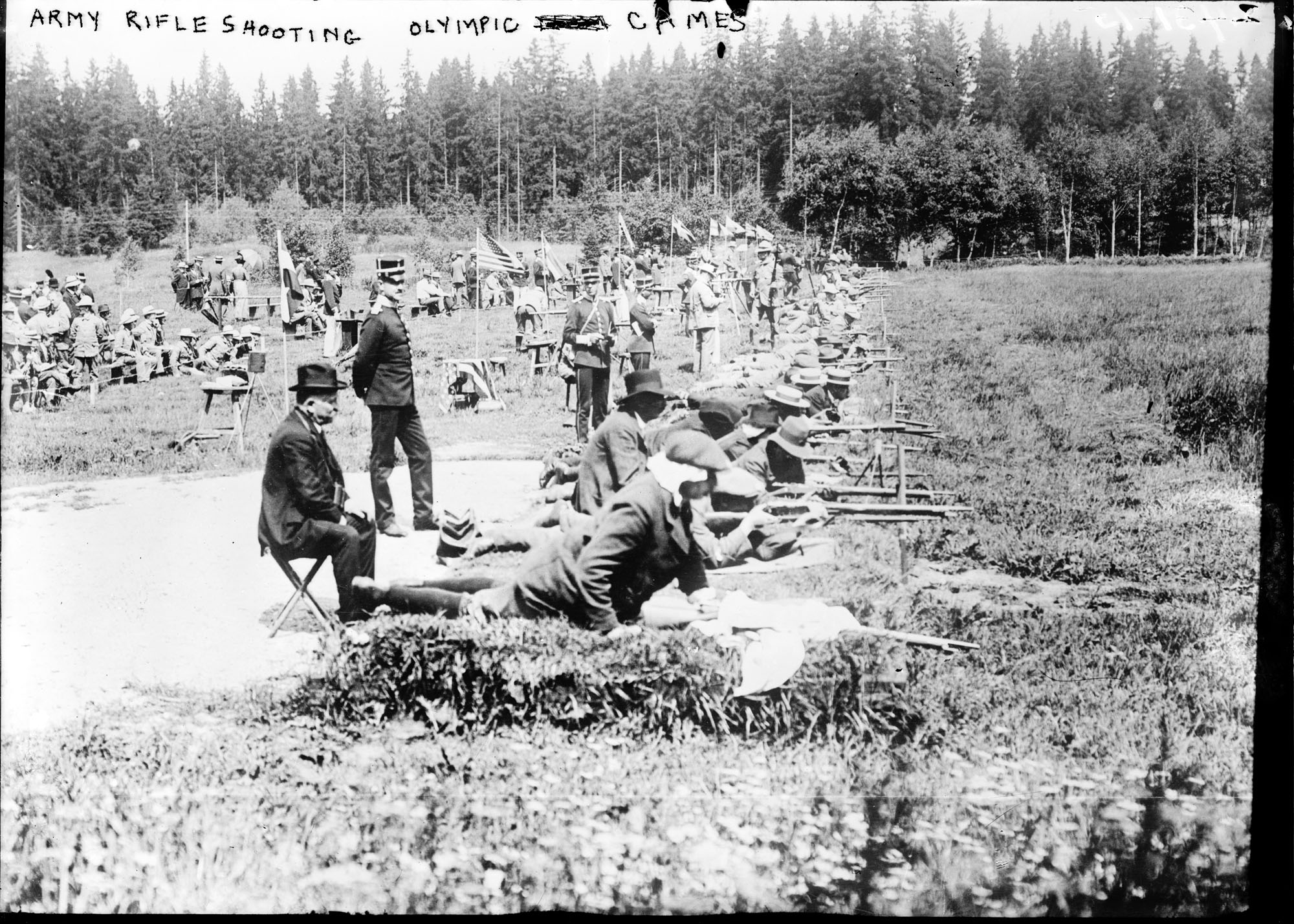 1912 Summer Olympics - Army rifle shooting