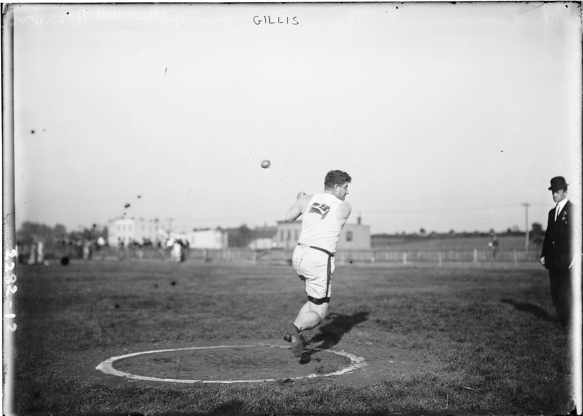 1912 Stockholm Summer Olympics - Duncan Gillis