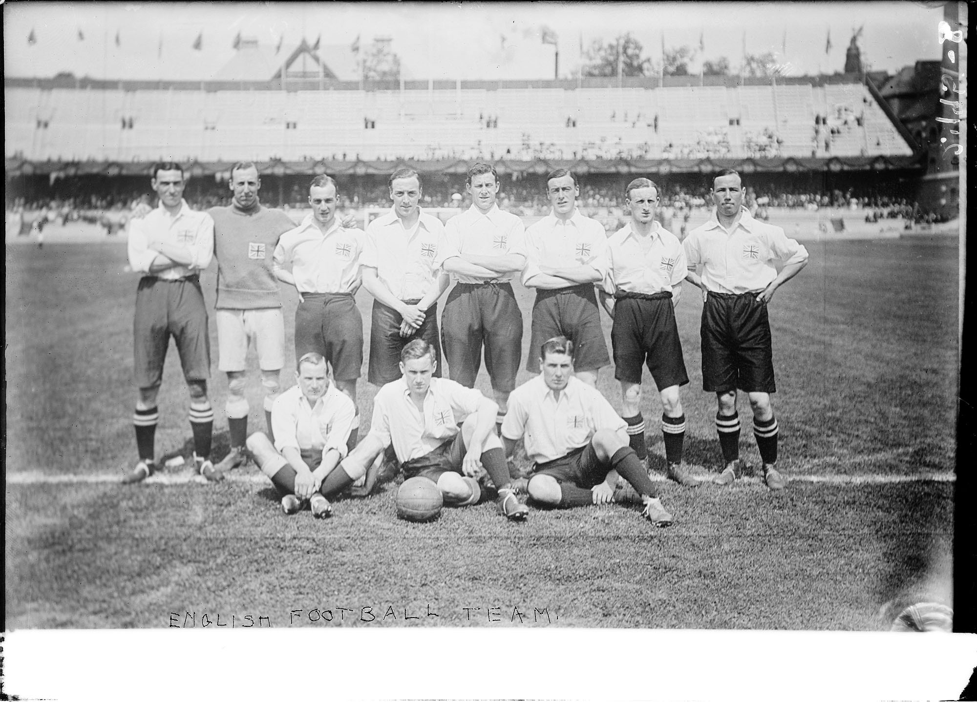 English football team, 1912 Summer Olympics in Stockholm, Sweden