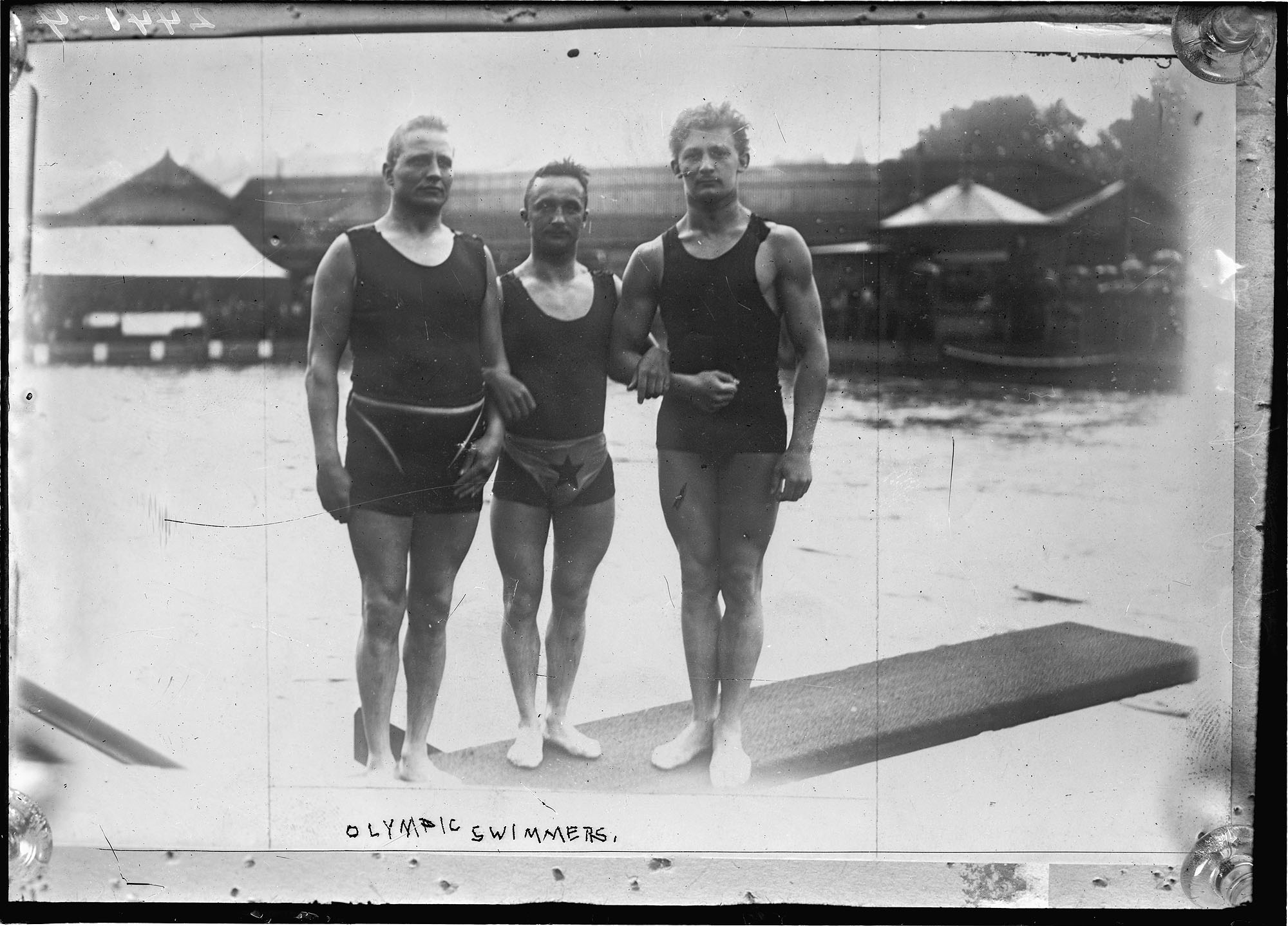 Olympic Swimmers - 1912 Summer Olympics in Stockholm, Sweden